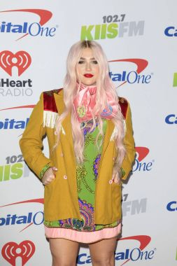 Kesha at the Jingle Ball 2017