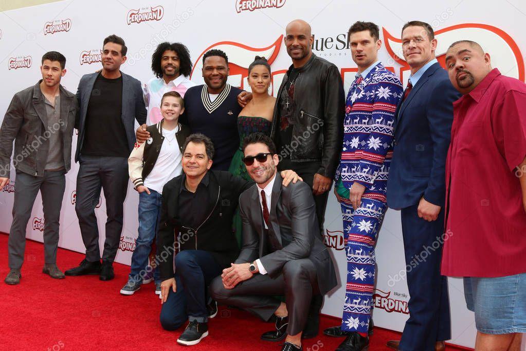 Nick Jonas, Bobby Cannavale, Daveed Diggs, Jet Jurgensmeyer, Anthony Anderson, Gina Rodriguez, Carlos Saldanha, Boris Kodjoe and others