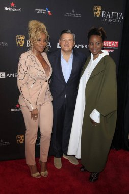 Mary J Blige, Ted Sarandos, Dee Rees