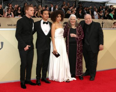 Lucas Hedges, Jordan Rodrigues, Marielle Scott, Lois Smith, Stephen Henderson