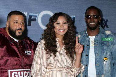 DJ Khaled, Evvie McKinney, Sean Combs