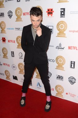 Yungblud at the Guild of Music Supervisors Awards