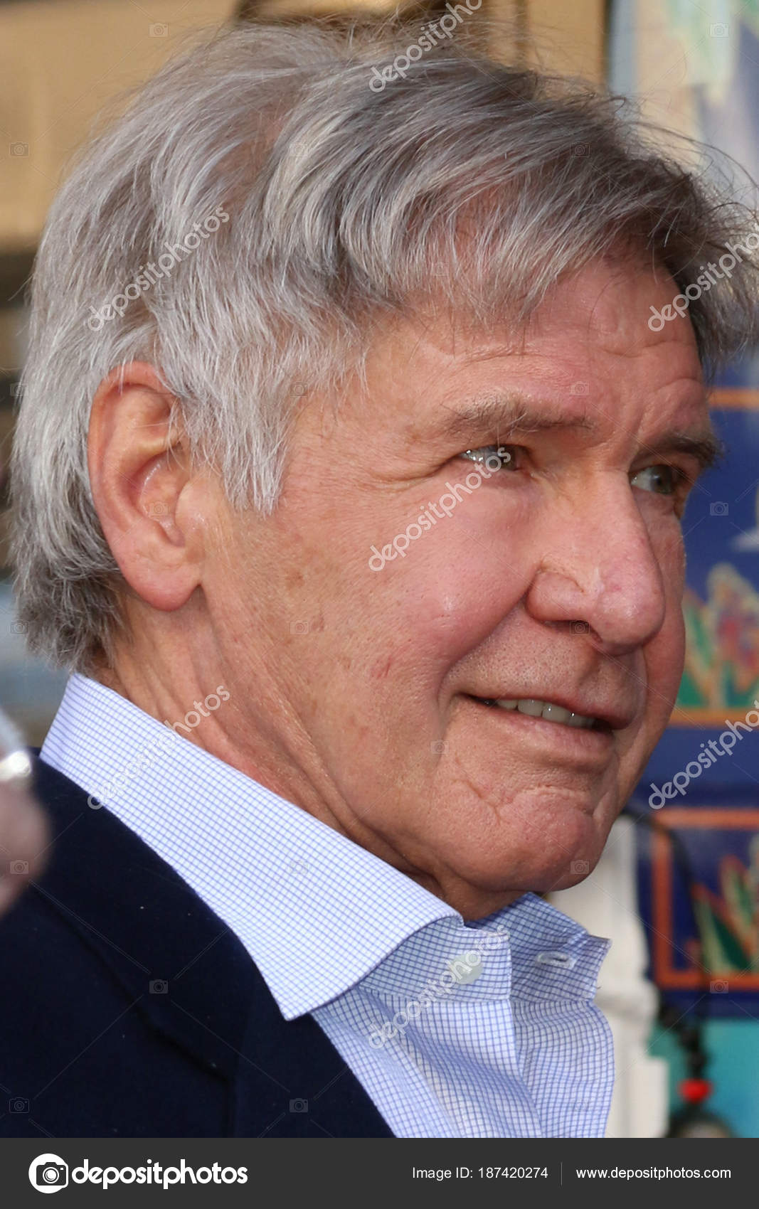 Actor Harrison Ford – Stock Editorial Photo © Jean_Nelson #187420274