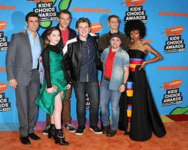 Henry Danger Cast, Cooper Barnes, Ella Anderson, Jeffrey Nicholas Brown, Michael Cohen,Jace Norman, Sean Ryan Fox, Riele Downs