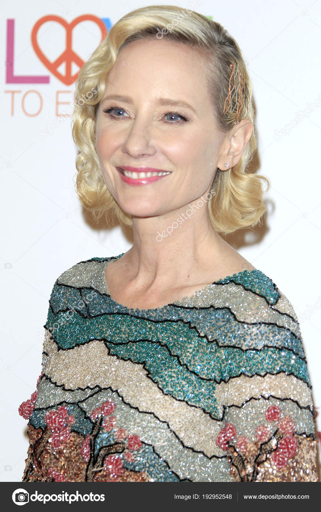 Anne Heche at the 4th Annual Variety Power of Women Event