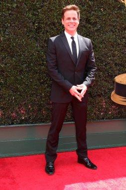 LOS ANGELES - APR 29:  Christian LeBlanc at the 45th Daytime Emmy Awards at the Pasadena Civic Auditorium on April 29, 2018 in Pasadena, CA