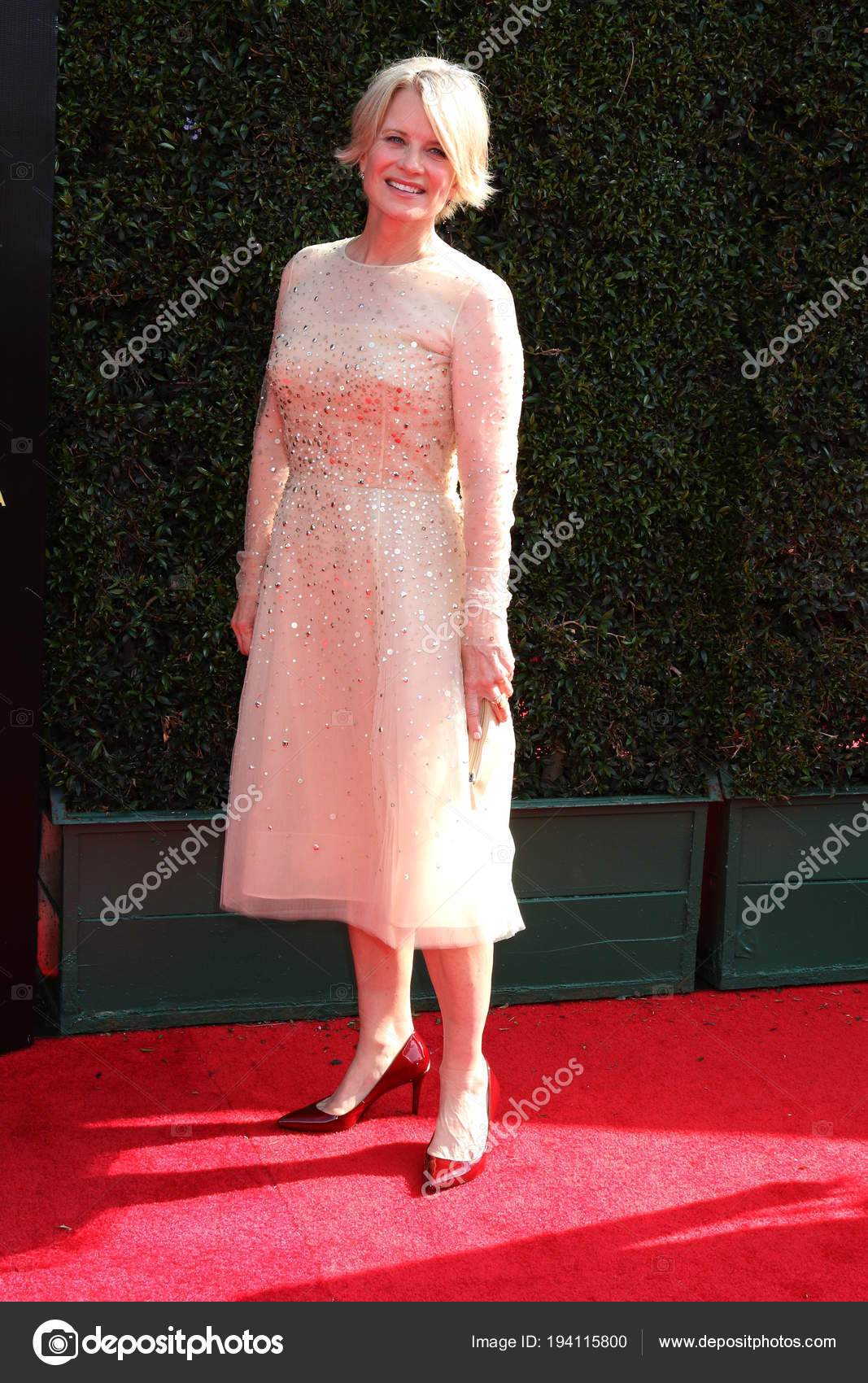 Los Angeles Apr Mary Beth Evans Emmy Diurno Premios Auditorio — Foto ...
