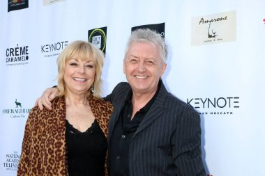 LOS ANGELES - APR 25:  Mari Wilson, Mal Young at the NATAS Daytime Emmy Nominees Reception at Hollywood Museum on April 25, 2018 in Los Angeles, CA