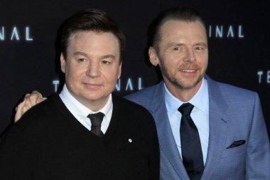 Mike Myers, Simon Pegg