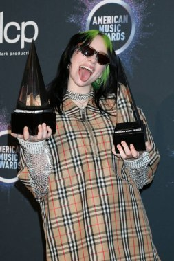 47th American Music Awards - Press Room
