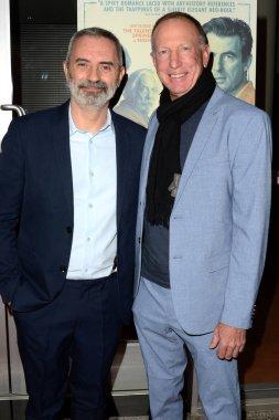 LOS ANGELES - MAR 2:  Giuseppe Capotondi, David Lancaster at the