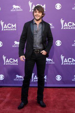 LOS ANGELES - APR 1:  Thomas Rhett at the 47th Annual Academy Of Country Music Awards at the MGM Garden Arena on April 1, 2012 in Las Vegas, NV