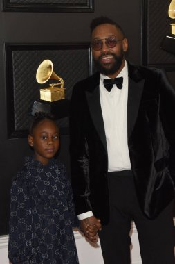 LOS ANGELES - JAN 26:  Peyton Morton, PJ Morton at the 2020 Grammy Awards - Arrivals at the Staples Center on January 26, 2020 in Los Angeles, CA