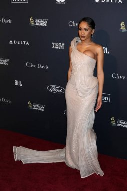 LOS ANGELES - JAN 25:  Saweetie at the Clive Davis Pre-GRAMMY Gala at the Beverly Hilton Hotel on January 25, 2020 in Beverly Hills, CA