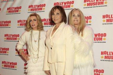 LOS ANGELES - JAN 18:  Joan Van Ark, Donna Mills, Michele Lee at the 40th Anniversary of