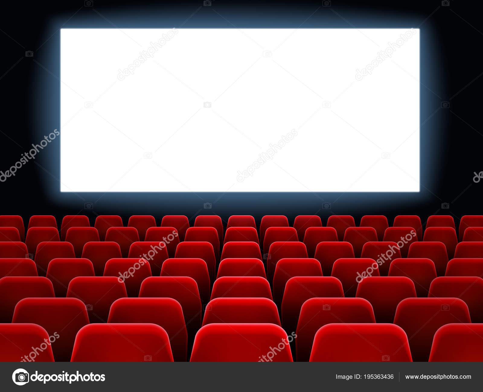 film premi re v nement au th tre cin cran blanc cin ma blanc l int rieur de salle de film. Black Bedroom Furniture Sets. Home Design Ideas