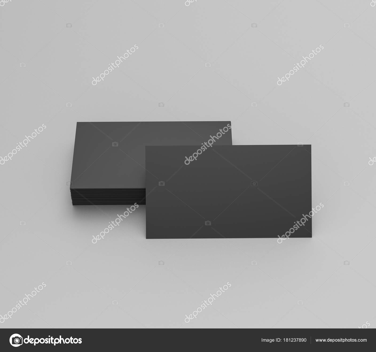 Black business cards blank mockup template 3d rendering stock black business cards blank mockup template 3d rendering stock photo colourmoves
