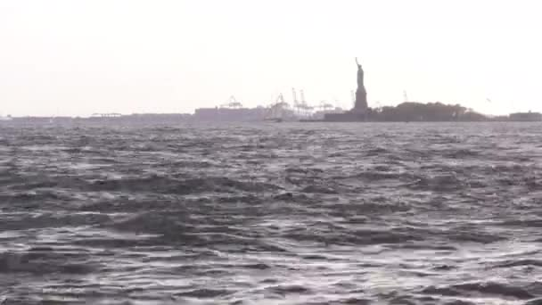 Small Statue of Liberty from Battery Park.
