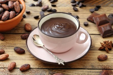 hot chocolate cup
