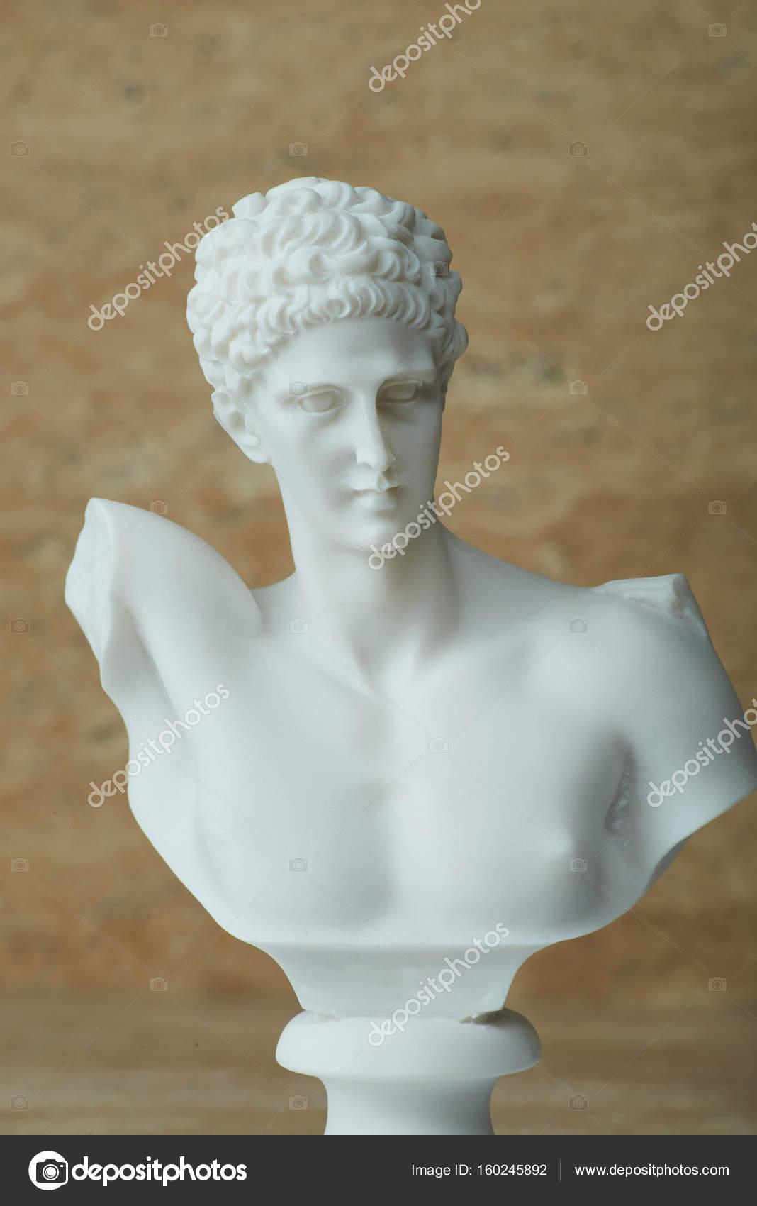 Statue of Hermes,ancient Greek god of transportation