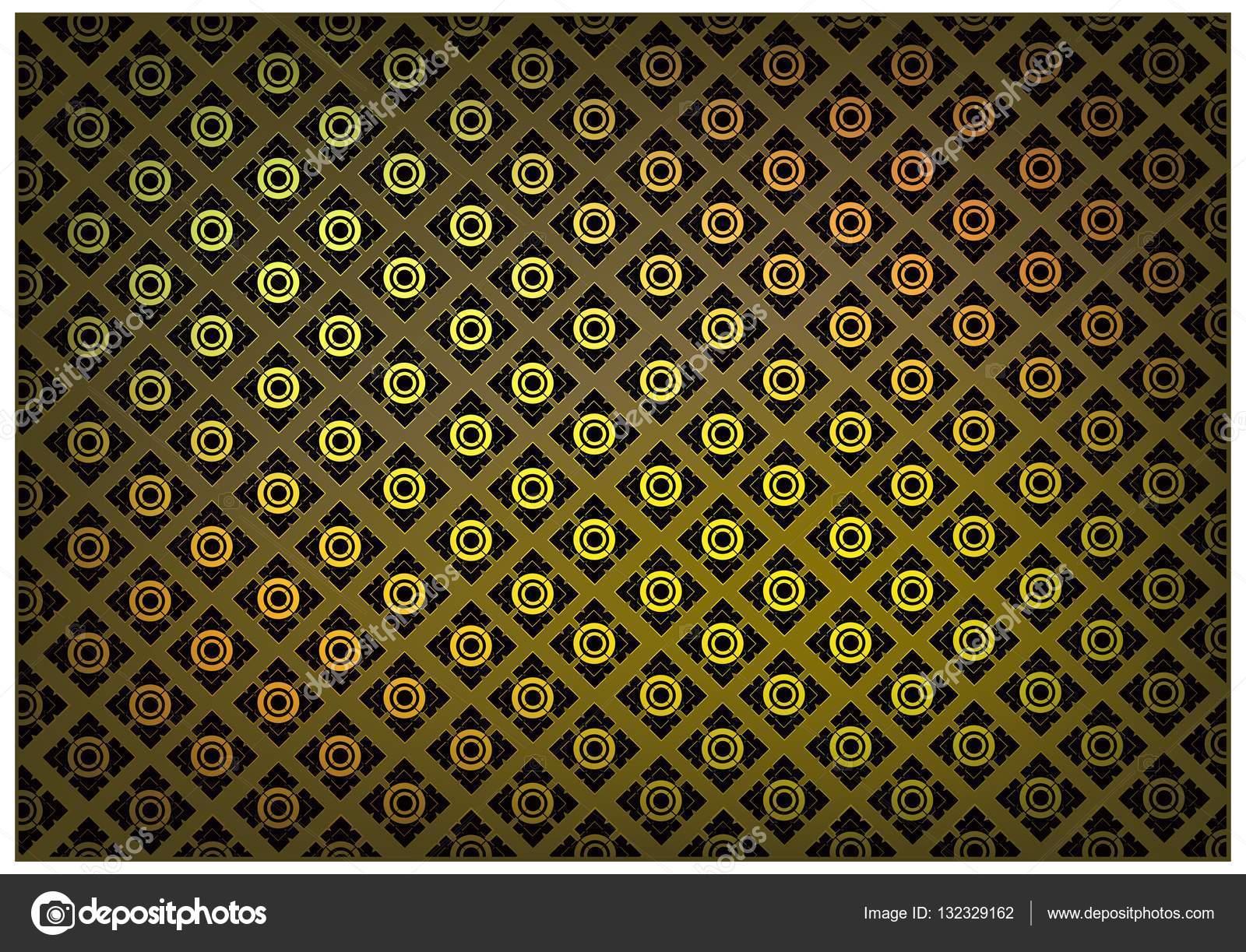 couleur brun doré de thaïlandais vintage wallpaper fond — image