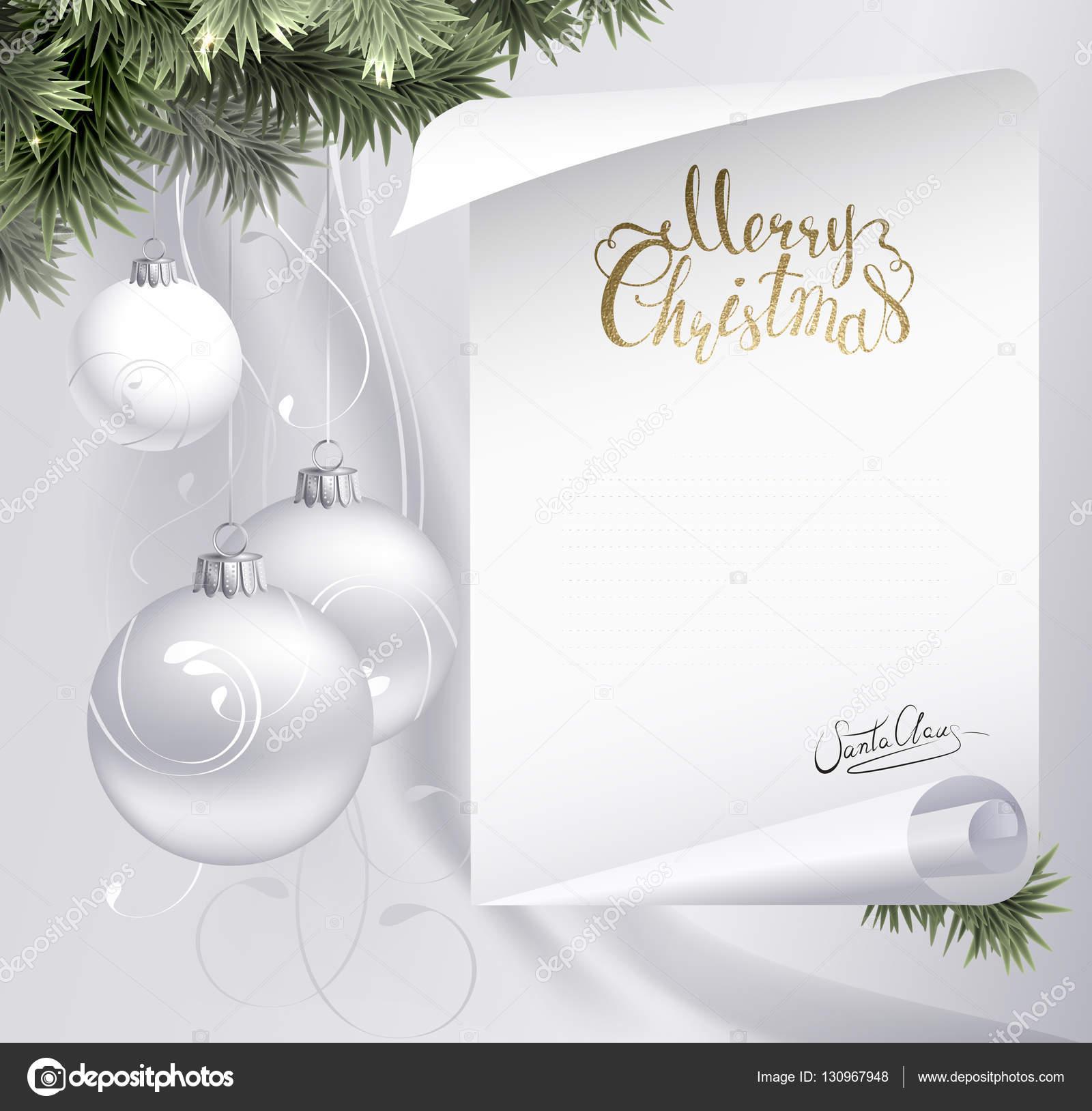 Auguri Di Buon Natale Eleganti.Cartolina D Auguri Di Natale Elegante Festa Vettoriali Stock