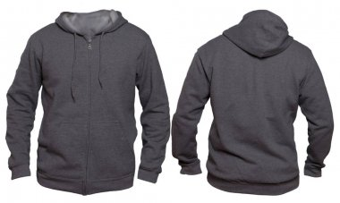 Dark Gray Hoodie Mock up