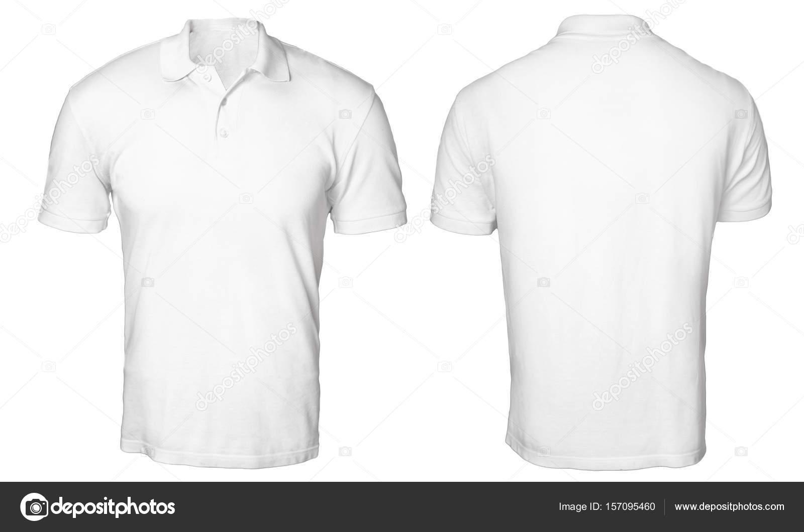 Mock-camisa Polo branca se — Fotografias de Stock © airdone  157095460 f32af5038f0b7
