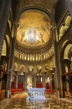 MONACO-VILLE, MONACO - JULY 11: Interior of Saint Nicholas Cathe