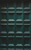 Fotografie zelený dveře