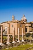 Ruinen des römischen Forums in Rom, Italien