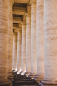 Fotografie beautiful old columns in Vatican, Italy
