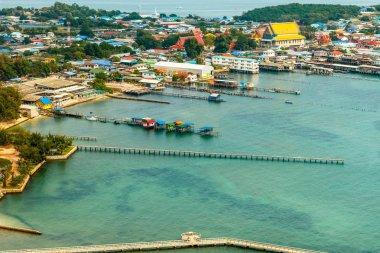 """Картина, постер, плакат, фотообои """"view of sea, ththailand пейзаж море шишкин"""", артикул 143144349"""
