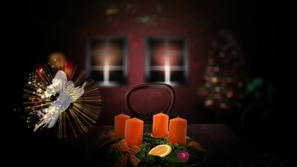 Advent Kranz Kerzen