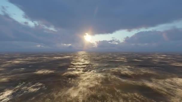 moře oceánu vlny Pacifiku Atlantik