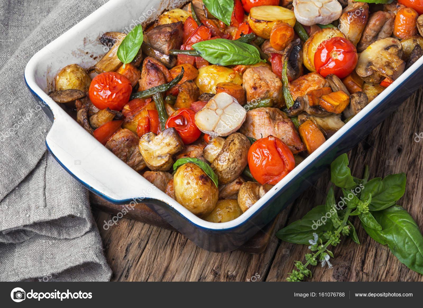 Мясо с овощами - пошаговый рецепт с фото на Повар.ру