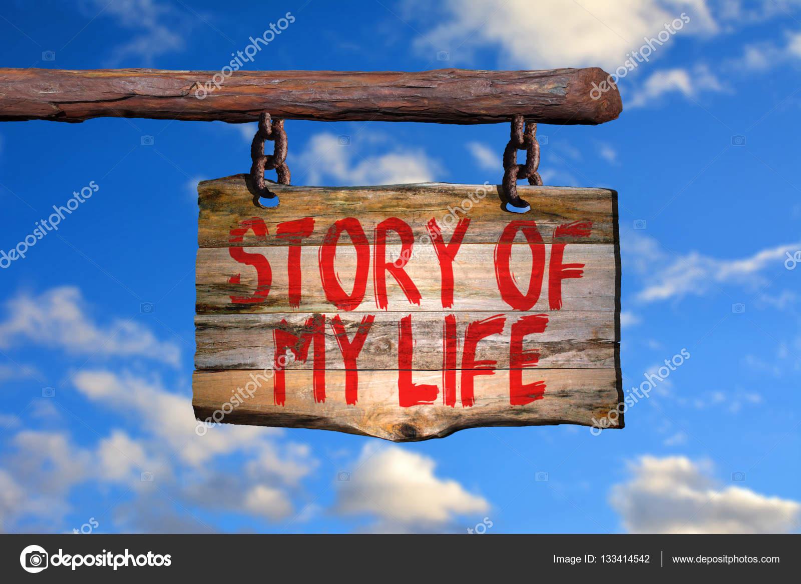 História Da Minha Placa De Frase Motivacional De Vida