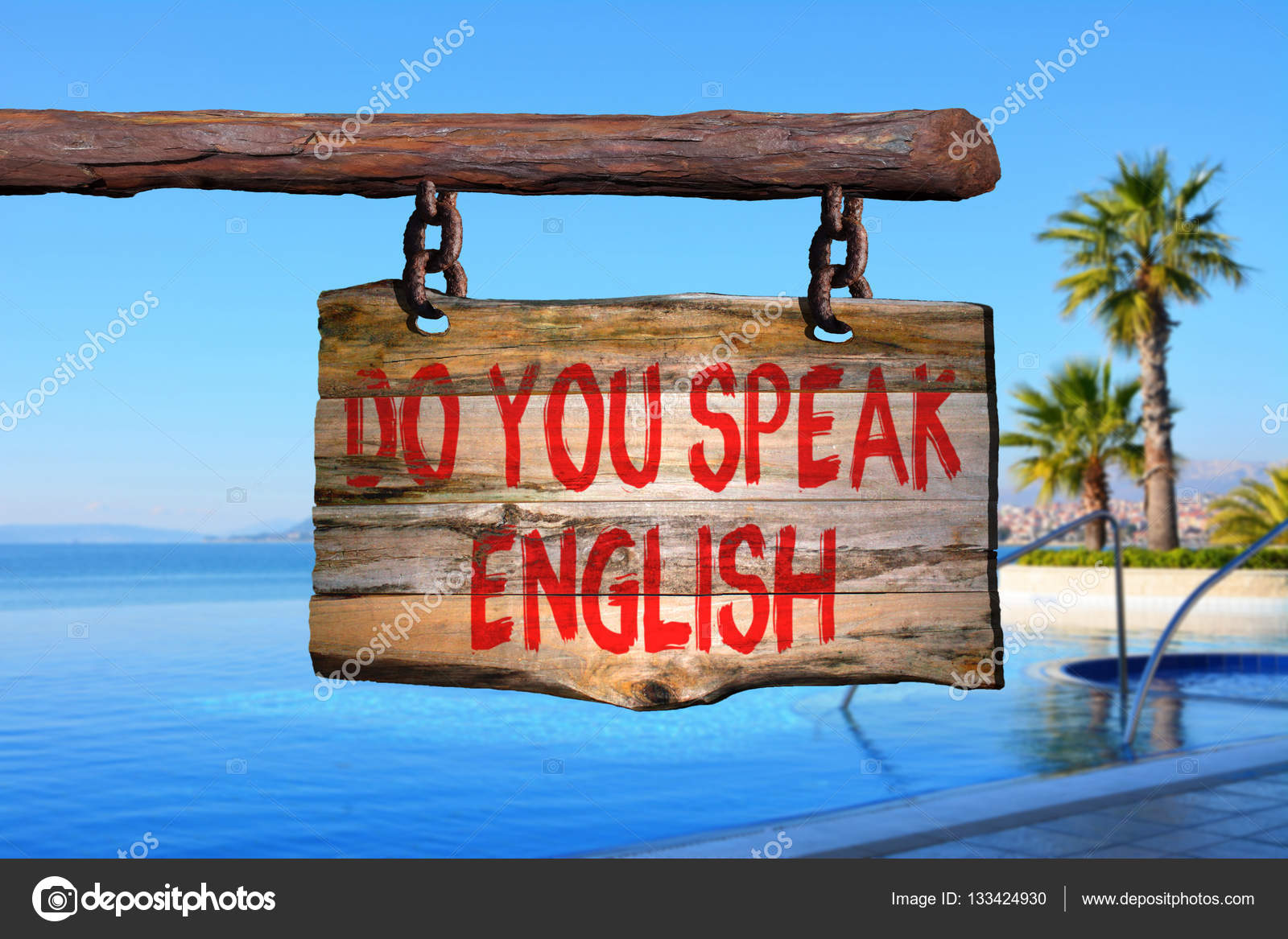 Hablas Inglés Fotos De Stock Leont 133424930