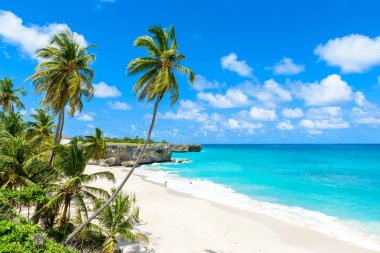 Paradise beach of Barbados island, Bottom Bay, Barbados, Caribbean.