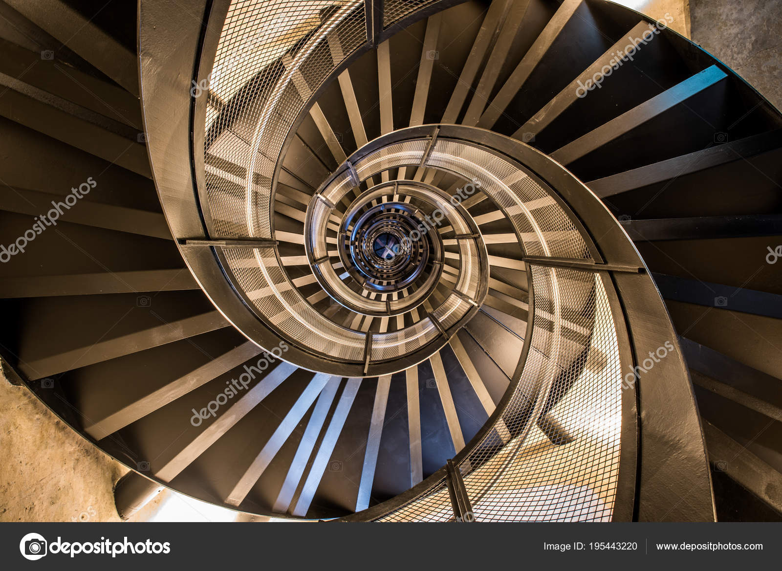 Spiral Staircase Tower Interior Architecture Building U2014 Stock Photo