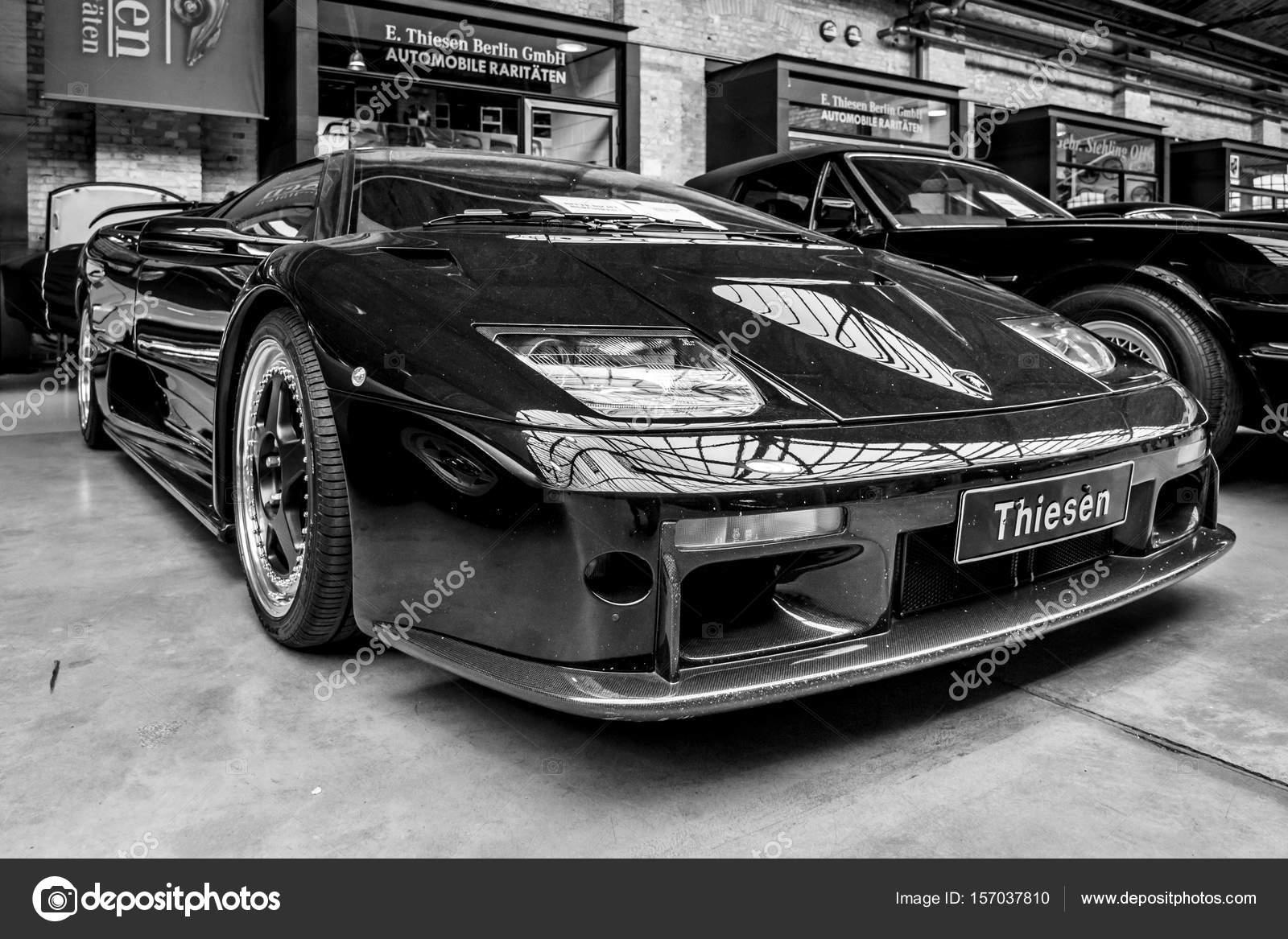 Carro Esportivo Lamborghini Diablo Gt, 2001 U2014 Fotografia De Stock