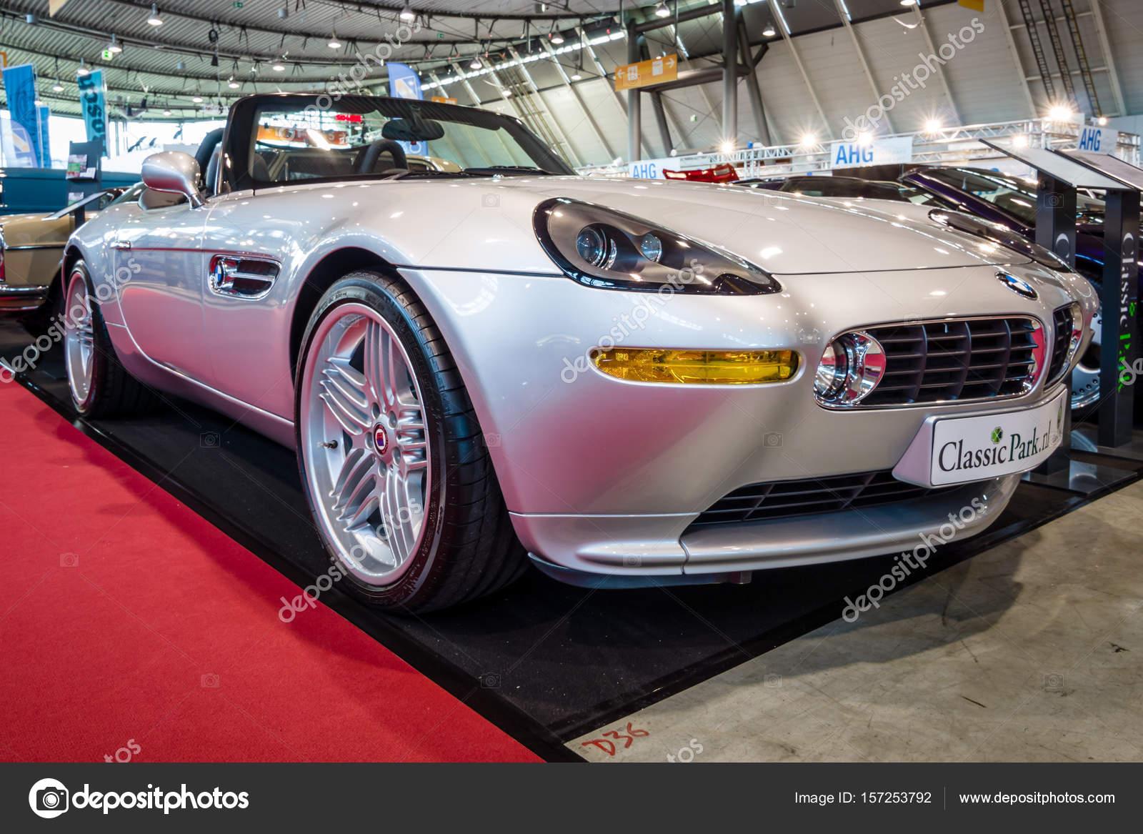 Sports Car BMW Z Alpina V Roadster Stock Editorial Photo - Bmw z8 alpina