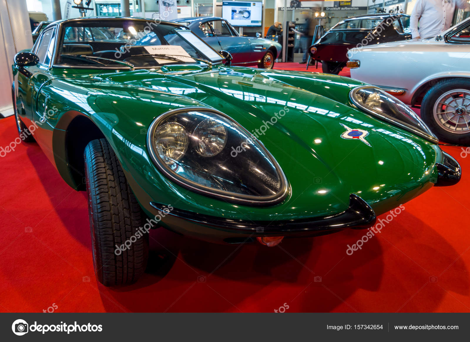 Sports car Gt 1500 Marcos, 1967 — Foto editorial de stock © S_Kohl ...