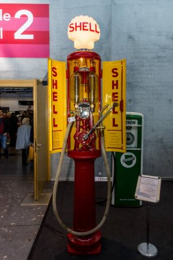 Retro fuel dispenser by Shell middle of 20 - 30 years of the last century. Nickname