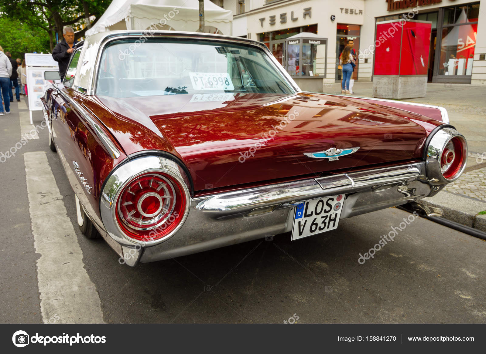 Personal Luxury Car Ford Thunderbird Third Generation 1963