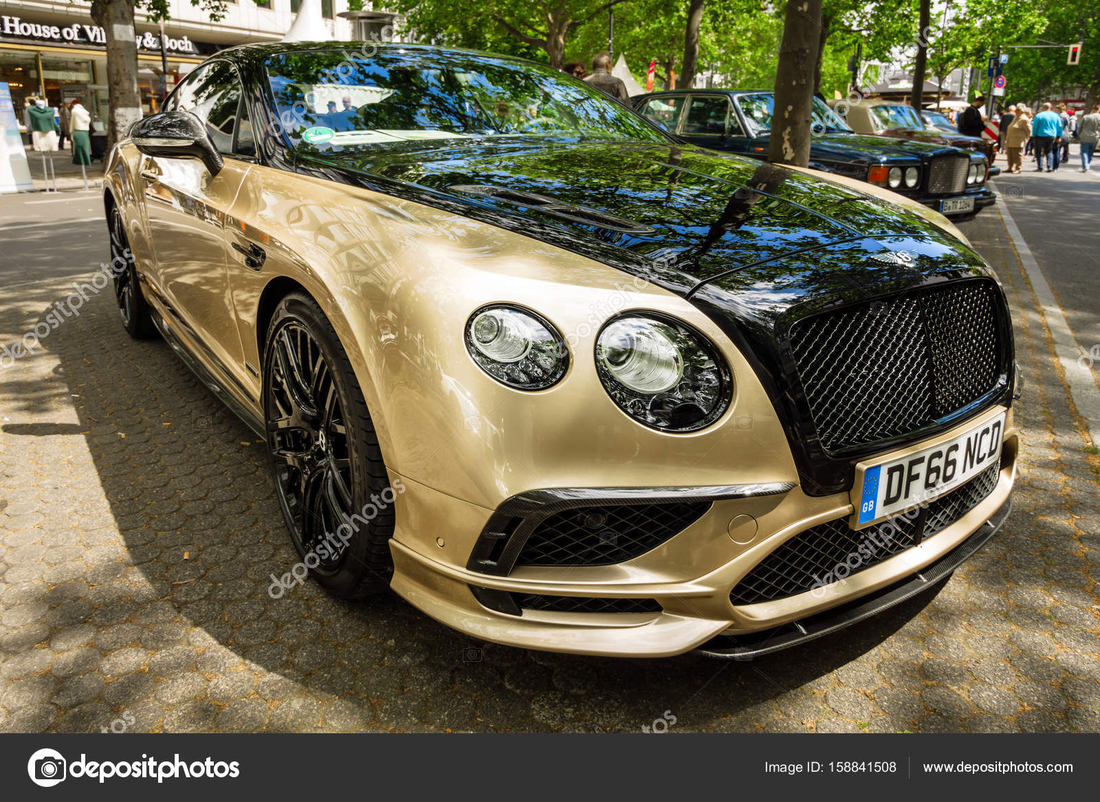 Personal Luxury Cars Bentley Continental Supersports 2017