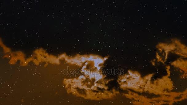 Cestování vesmírem koryta plná hvězd a mlhovin