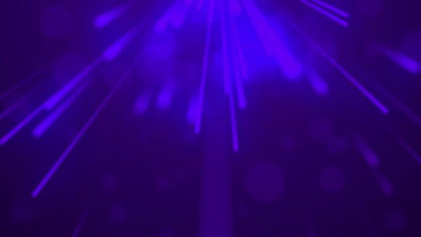Fialová smyčka částice se světlým pozadím