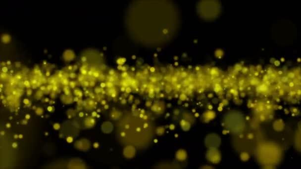 Žluté světlo abstraktní bokeh pozadí