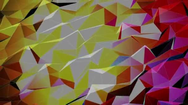 Rozmazané světla barevné nízké Poly